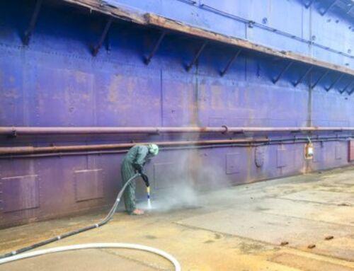 Afrensning af stål for virksomhed